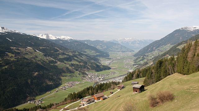 Prázdniny v Zillertalu