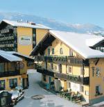 Rakouský hotel Pachmair v zimě