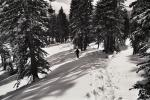 Zell am Ziller - chůze na sněžnicích