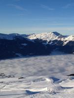 Část lyžařského areálu Ski-Optimal Hochzillertal / Kaltenbach